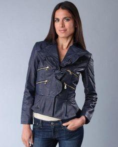 Peplum ruffle jacket