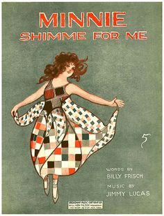Vintage Song Poster - Minnie