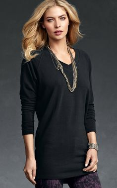 Cozy V-Neck - Tops, Tunics - CAbi Fall 2012 Collection