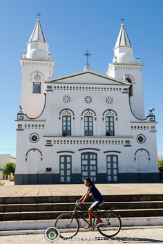Igreja matriz de Santo Antônio, no município de Quixeramobim, estado do Ceará, Brasil.