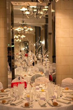 'A Touch of Red' Christmas Celebrations - Christmas Party - Red Theme - Royce Hotel Melbourne Conference Venue - Melbourne Wedding Venue Elegant Christmas, Red Christmas, Christmas Themes, Hotel Meeting, Melbourne Wedding, Old World Charm, Centre Pieces, Royce, Design Art