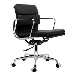 Eames Aluminium Group Style Softpad Management Chair