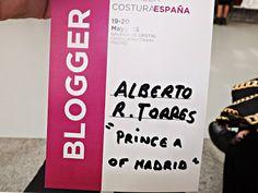 Prince -A.: Pasarela Costura España.