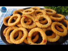 Máte brambory doma? Tento recept chutná lépe než bramborové lupínky, je levný a lahodný! - YouTube Onion Rings, Antipasto, Potato Chips, Relleno, Waffle, Food And Drink, Potatoes, Sweets, Ethnic Recipes