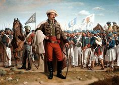Kai Fine Art is an art website, shows painting and illustration works all over the world. Military Art, Military History, Military Uniforms, World Conflicts, Hyperrealism, World History, Warfare, 19th Century, Knight