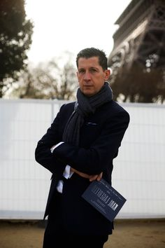 On the Street…. Mr. Tonchi, Paris « The Sartorialist