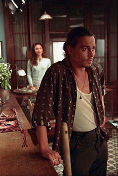 Pics from the movie Chocolat Johnny Depp Chocolat, Young Johnny Depp, Johnny Depp Movies, Here's Johnny, Juliette Binoche, Jack Johns, Joanne Harris, Maya, Abbott And Costello