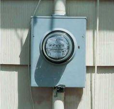 Instalaciones eléctricas residenciales - medidor de energía eléctrica