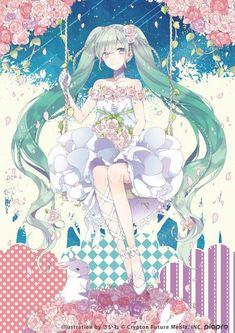 Apr 2020 - Read Anime Girl Wedding from the story Ảnh Anime Đẹp ( 2 ) by Kiritoboy (Kirigaya Yuki) with 288 reads. Nếu thíc. Anime Chibi, Kawaii Anime, Chica Anime Manga, Anime Girl Drawings, Anime Art Girl, Manga Girl, Anime Girls, Anime Angel, Hatsune Miku Vocaloid