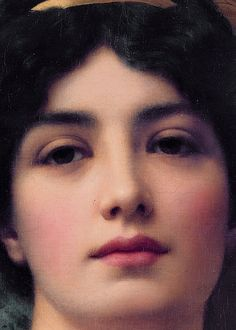 Contemplation  (detail), John William Godward, 1903