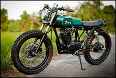 Love this little guy. Based on one of the most popular bikes in Indonesia. Dues Bali, Inari.