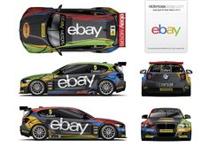 nickmossdesign.com - 2013 ebay motors racing team M1 BTCC Livery Design
