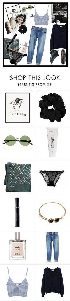 """A stay at the park"" by deaddxddy ❤ liked on Polyvore featuring INDIE HAIR, Garance Doré, The Row, Korres, Chloé, Christian Dior, Urbiana, philosophy, Frame and Chicnova Fashion"