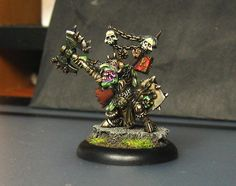 AOW Goblin Hero Miniature paint by me