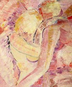 Skt.Georgs belønning Olie på lærred (70x55) 1987 af Svend Christensen