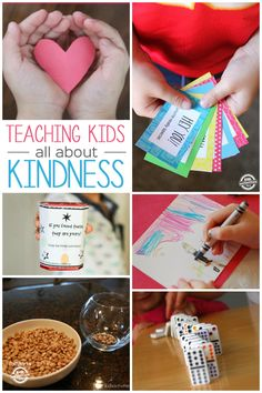 55 Kindness Activities for Kids. We love using these fun and playful kindness activities to teach our kids. Its so important to begin teaching them about being kind to others and how little things can make a big difference. Teaching Kindness, Kindness Activities, Preschool Activities, Respect Activities, Emotions Activities, Space Activities, Listening Activities, Weather Activities, Health Education