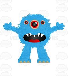 monster with sharp teeth - Google Search