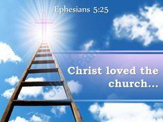 0514 ephesians 525 christ loved the church powerpoint church sermon Slide01 http://www.slideteam.net/