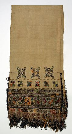 Probably a waist band, used by women. Blind Artist, Greek Traditional Dress, Fabric Journals, Weaving Textiles, Folk Costume, Costumes, Weaving Projects, Metropolitan Museum, Handicraft