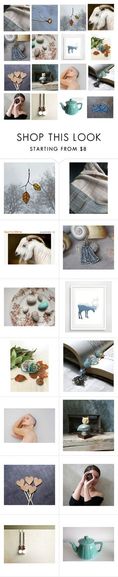 """""""Misty Blues"""" by laughingdog ❤ liked on Polyvore featuring interior, interiors, interior design, home, home decor and interior decorating"""