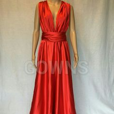 Long elegant Marilyn Monroe inspired evening gown This beautiful, charmeuse ,classic Hollywood style evening gown is a show stopper. Look absolutely stunning in this beautiful evening gown! This evening gown comes in many sizes. Please inquire with any and all questions you may have about sizes! Gowns  Dresses Prom