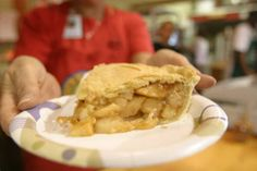 My favorite! Apple Pie from the Vermont Building at The Big E.