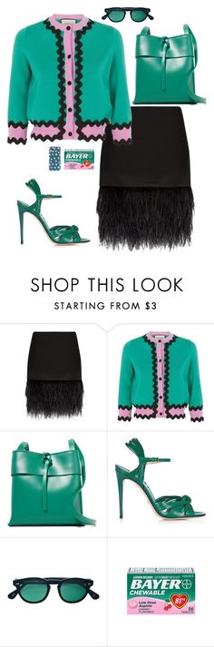 """""""Inspiration: Teal"""" by skeletorsmom ❤ liked on Polyvore featuring Polo Ralph Lauren, Gucci, Kara, Scanlan Theodore and Casetify"""