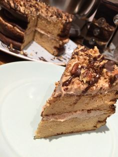 Protein Pecan and Coffee Cake