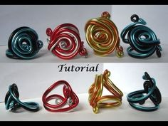 ▶ Tutorial Anillo de Aluminio con Espiral - YouTube