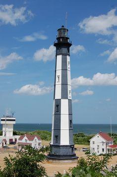 New Cape Henry Lighthouse, Virginia Beach Virgina Beach, Virginia Beach Vacation, Cape Henry Lighthouse, Lighthouse Pictures, Vacation Places, Vacations, Virginia Is For Lovers, Beacon Of Light, Lanterns