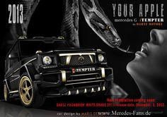 Mercedes-Benz iTempter base on G-Class by Dartz Motorz
