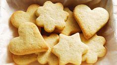 La receta más rica de galletas de mantequilla!! Disfrútalas con toda la familia!!