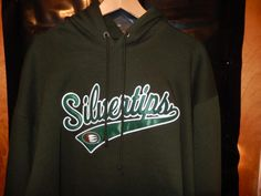 NWOT Men's Everett Silvertips Hockey Hoodie Sweatshirt Green XL Blue 84 NEW…