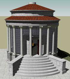 Храм Весты. Реконструкция