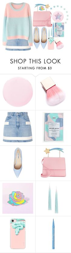 """""""Stardust"""" by atarituesday ❤ liked on Polyvore featuring Smith & Cult, Givenchy, J.Crew, American Eagle Outfitters, Steve Madden, Eddie Borgo, Casetify and Too Faced Cosmetics"""