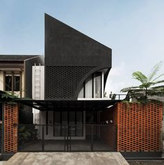 Architecture Photo, Amazing Architecture, Brick Material, House Template, Land Use, Facade House, Landscape Wallpaper, Shade Garden, Skylight