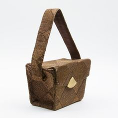 87ecfb705289 50s Box Bag Geometric now featured on Fab. Box Bag, Tech Accessories,  Reusable