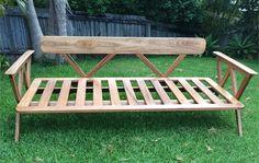 Makers Lane :: Day Bed Custom Made, Bespoke Furniture made in Australia. Bespoke Furniture, Daybed, Outdoor Furniture, Outdoor Decor, Furniture Making, Your Space, Custom Design, Australia, Fresh