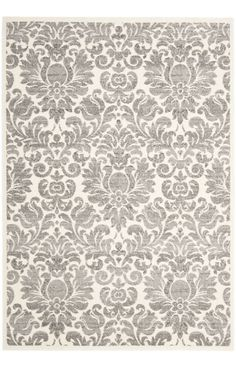Safavieh Porcello PRL3714 Grey Ivory Rug | Contemporary Rugs