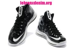 the best attitude e5b66 73227 Lebron X Shoes Black White Medal  Lebron X Denim 531  Jordan Basketball  Shoes,