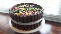 Kjøkkenglede: Kvikk-lunsj kake