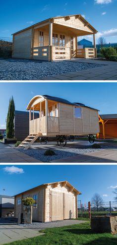 Hier sind drei unserer neuen Gartenhäuser in der Ausstellung. Komm doch gerne mal vorbei und schau dir unseren neuen Gartenhauspark an!   #gartenhaus