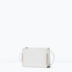 METAL MESSENGER BAG from Zara