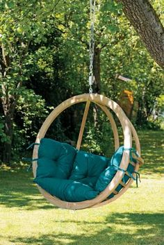 Cabelas.com Byer of Maine® Green Globo Chair    • Handcrafted in Poland • Modern comfort and style • Treated, laminated spruce frame  Hang it from a tree, on your porch or in your living room, the Byer of Maine Globo Chair adds modern comfort and style to any living environment. Handcrafted in Poland, its round, eye-pleasing frame is made of strong, treated and laminated spruce that weathers well. Take a spin and enjoy its thick, relaxing,