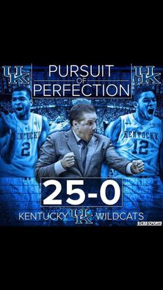 RT if you love your #25-0 Kentucky Wildcats!They tied their best start in school history! #PursuitOfPerfection