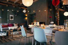 NORRÅKER tafel | #IKEA #IKEAnl #eettafel #kersttafel #kerst #berken #inspiratie
