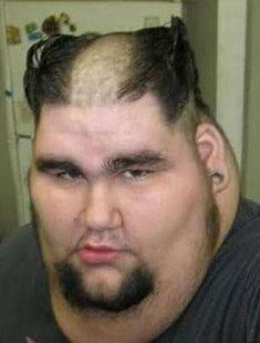 30 People That Really Should Not Have Been Allowed to Cut Their Own Hair Really Ugly People, Crazy People, Happy People, Stupid Funny Memes, Funny Relatable Memes, Funny Quotes, Funny Pics, Ugly People Quotes, Ugly People Problems