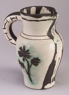 picasso ceramics catalog | lot 63 63 edition picasso for madoura ceramic jug view catalog