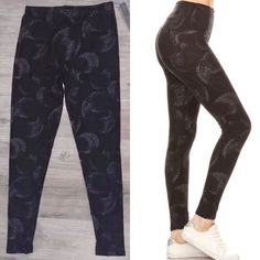 #stockedandstyled #stockonhand #stylist #stylistlife #willoughby #langley #walnutgrove #fortlangley #leggings #socialitesuite #sassysuite #fashion #styled #clothing #accessories #homeboutique #supportlocal #shoplocal #onesize #comfy #cozy #printedleggings #tights #leggingsarepants #leggingsarelife #leggingsalldayeveryday #leggingslife #buttery #peachskinsoft #soft #stretchy #yoga #paisleymoon #moons #paisley #monochrome #blackonblack #monochromatic Printed Leggings, Clothing Accessories, Monochrome, Paisley, Stylists, Tights, Cozy, Boutique, Pants