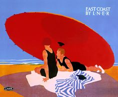 East Coast by LNER by Tom Purvis - art print from King & McGaw